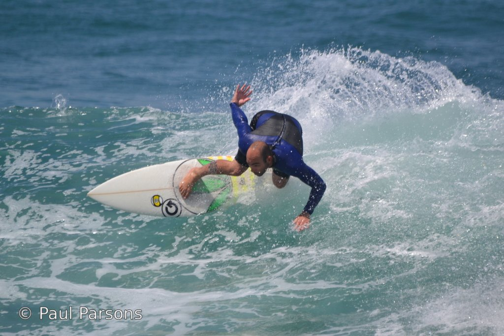 Surfing at the Point Inner Pool Mossel Bay