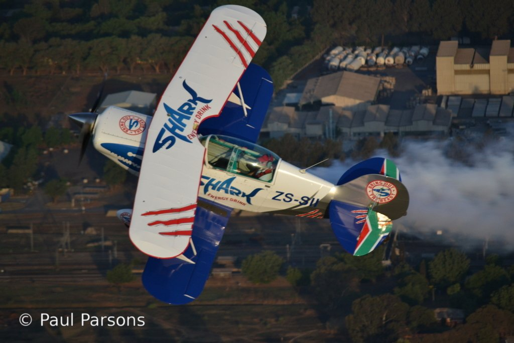 Pitts Special in flight 193