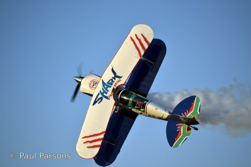Pitts Special in flight 240