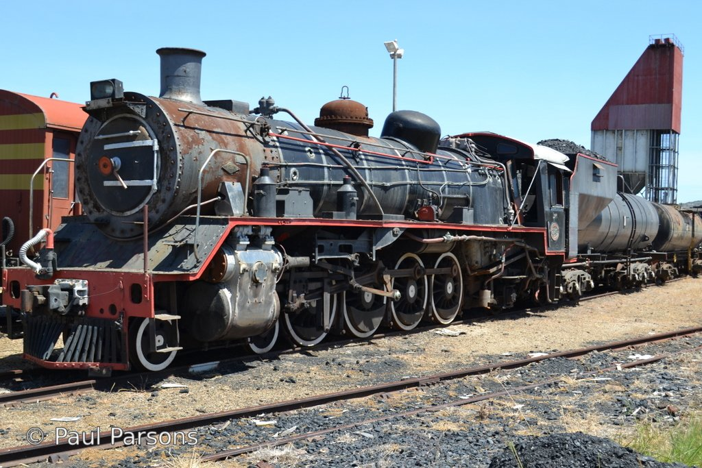 SAR Locomotive 19D no 2749  Hartenbos (Mossel Bay Western Cape)